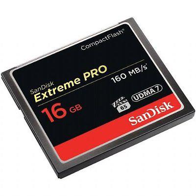 Sandisk 16 Gb Cf Extreme Pro 160Mb